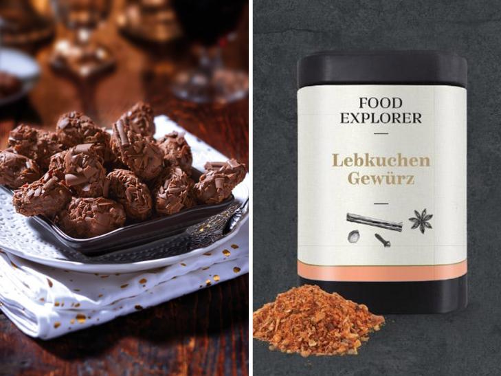 Kombipaket Schokoladen-Trüffel
