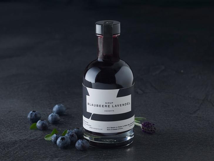 Blaubeer-Lavendel-Sirup