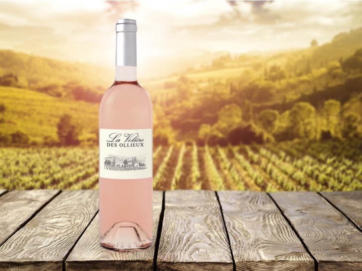 Rosé IGP La Volière des Ollieux