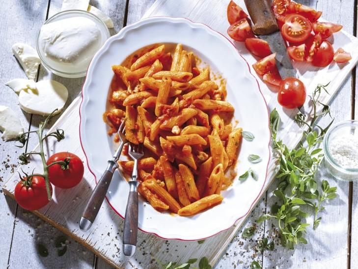 """Doppel(s)pass 2x Penne """"Tomate-Mozzarella"""" 9483"""