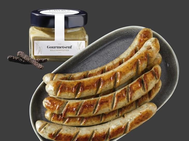 2877 Thüringer Rostbratwurst + 30773 Gourmetsenf