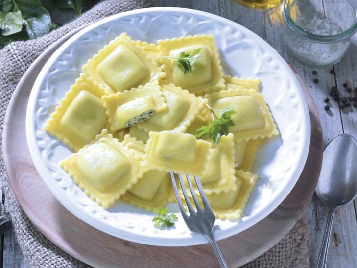 Ravioli Ricotta und Spinat glutenfrei
