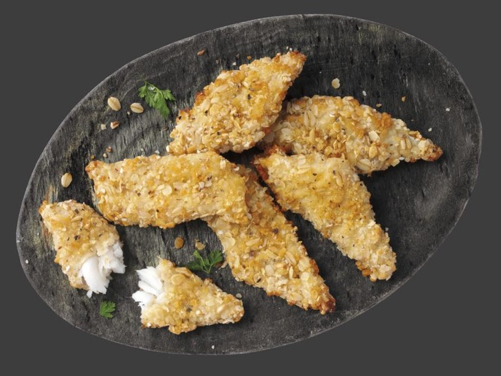 "Fischhappen ""Hafer-Crunch"""