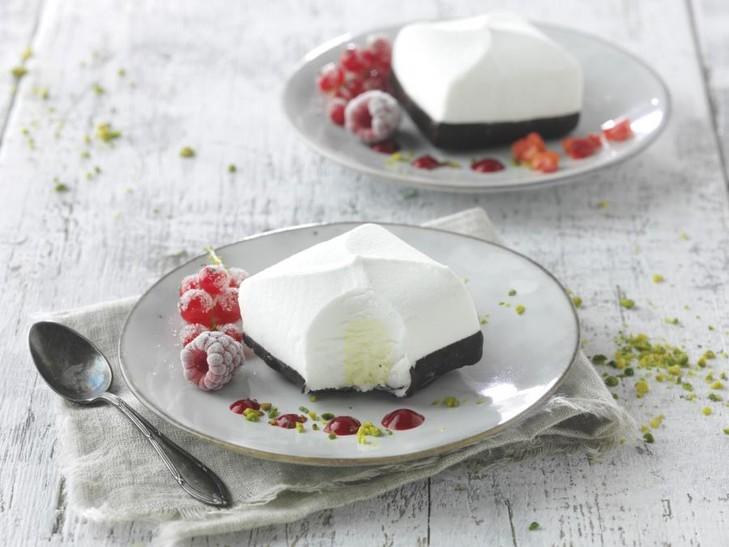 Eisdessert Sahne-Vanille