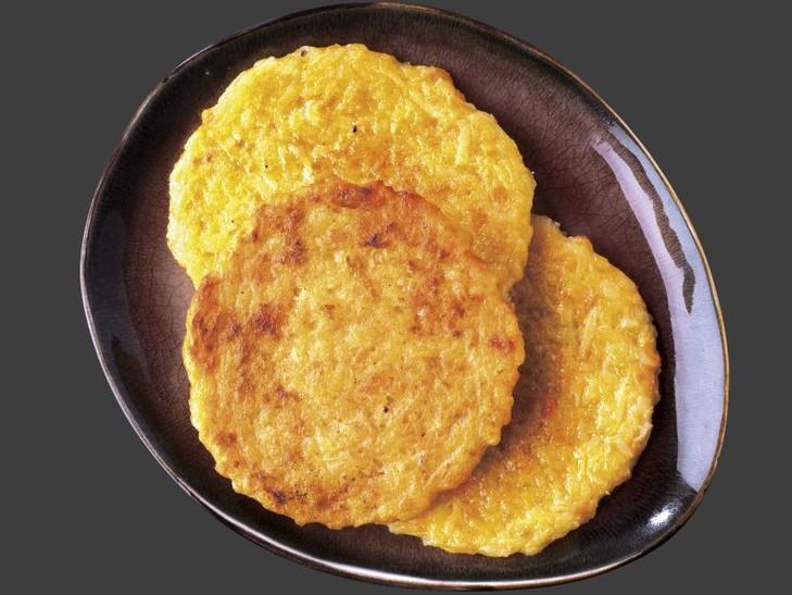 Reibekuchen mit Süßkartoffeln