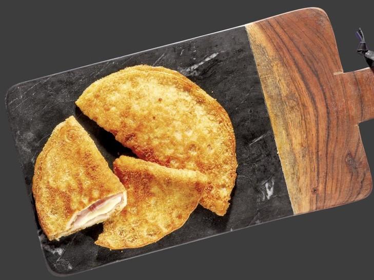 Knusperpfannkuchen à la Cordon Bleu