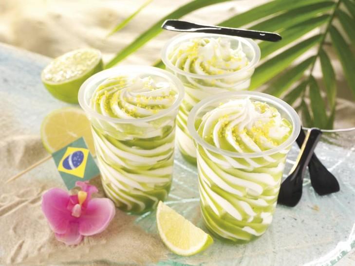 Caipirinha Eis-Cocktail