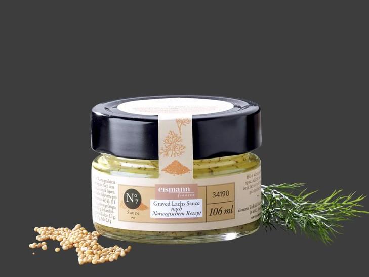 Graved Lachs Sauce nach norwegischem Rezept