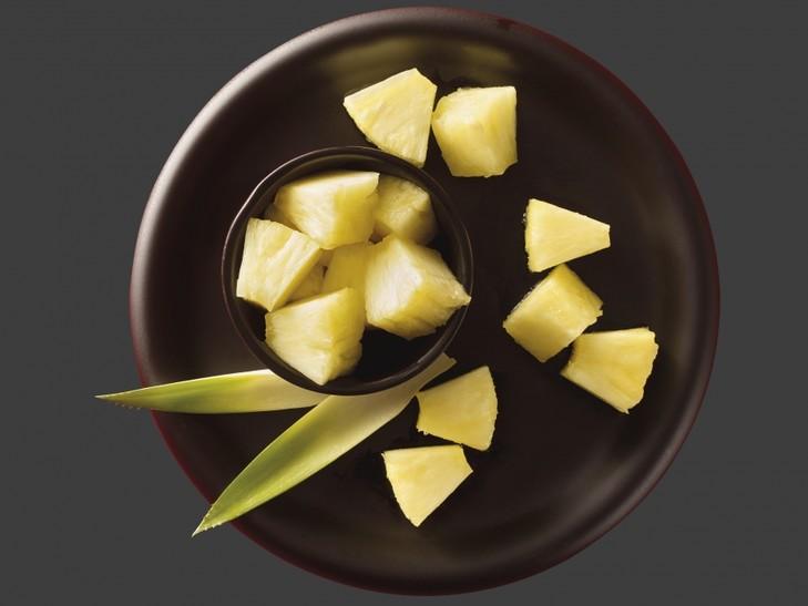 Ananas-Fruchtstücke