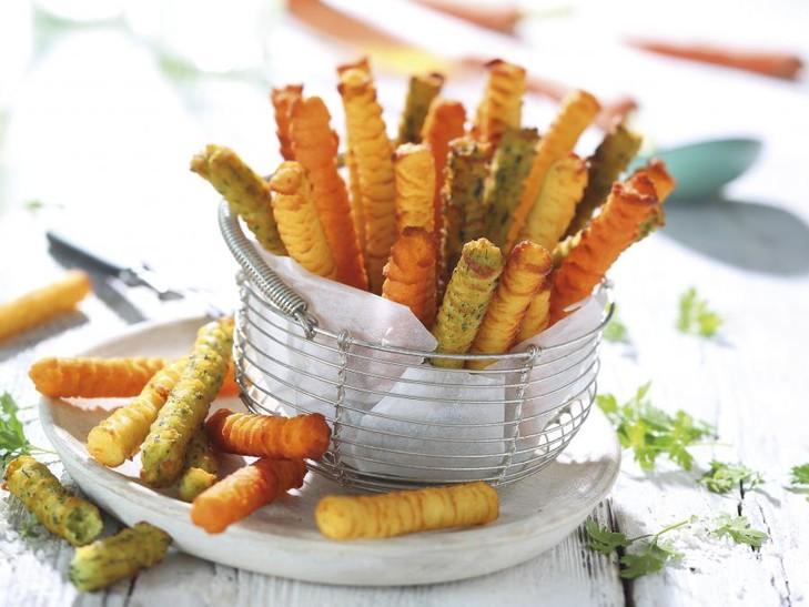 Kartoffel-Sticks Trikolore