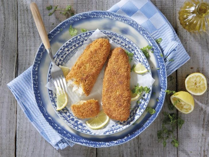 """Fischfilet """"Knusper-Zitrone"""""""