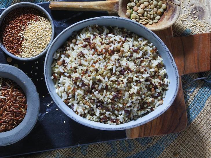 Getreide-Linsen-Vielfalt