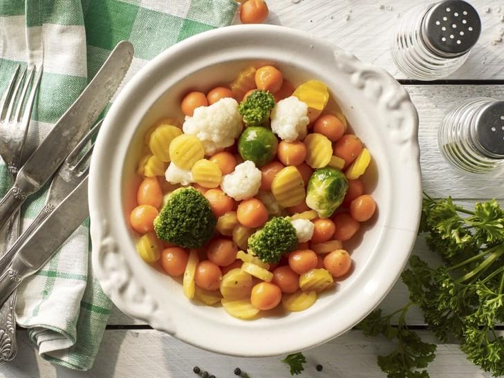Feiner Gemüseteller