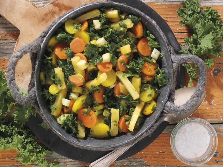 Heimischer Gemüse-Teller