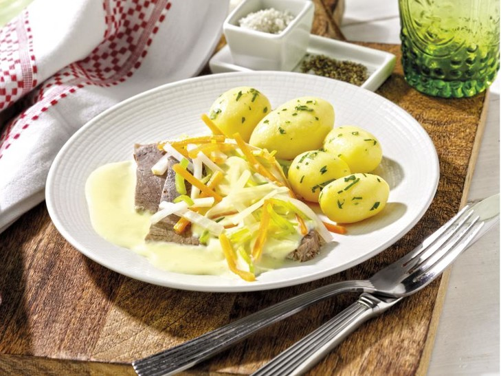 Tafelspitz mit Petersilienkartoffeln