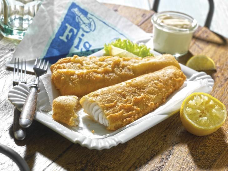 Jahrmarkt-Backfisch