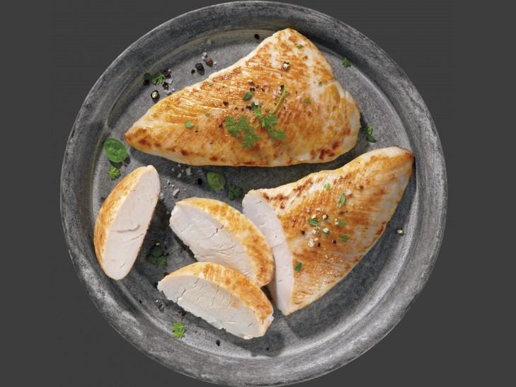 Putenschnitzel mit 8% Flüssigwürzung