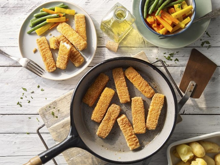 Fischstäbchen, glutenfrei