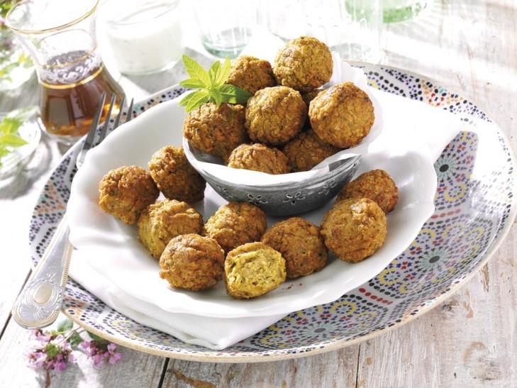 "Veggie-Bällchen ""Falafel"""