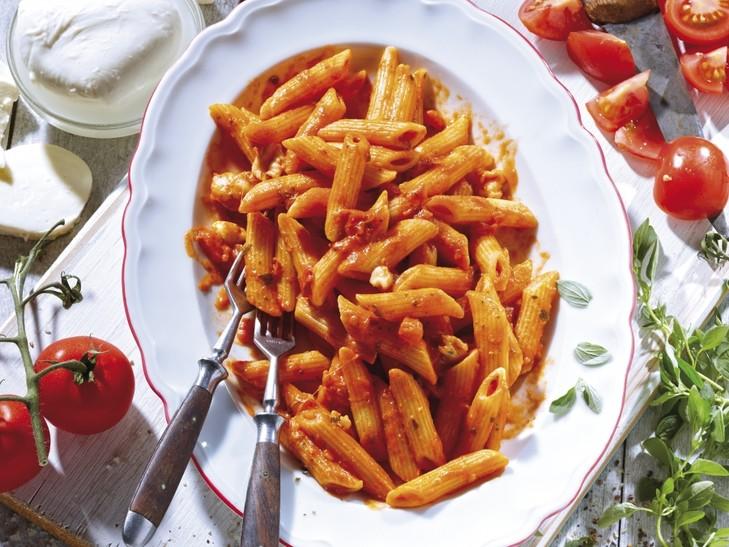 Penne Tomate-Mozzarella