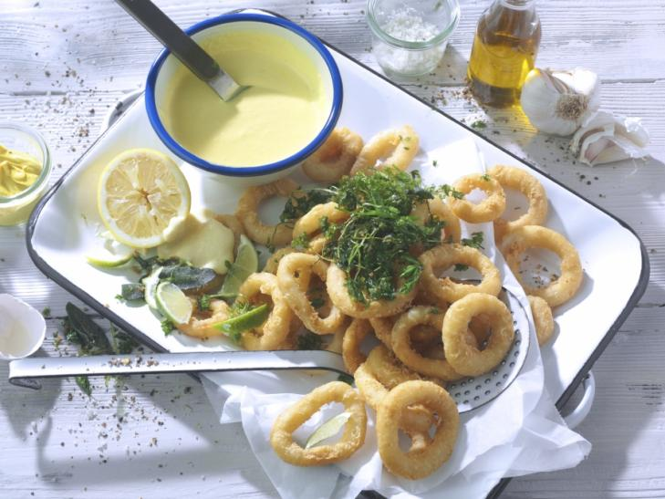 Calamares à la Romana