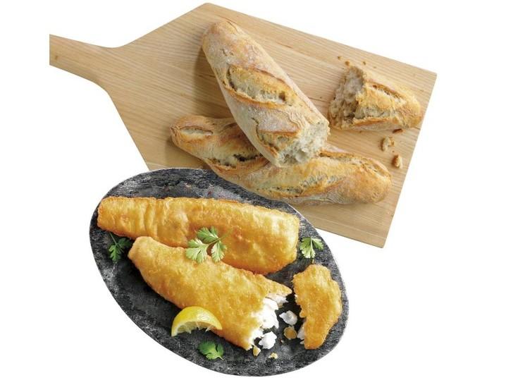 Kombi Jahrmarkt-Backfisch 8349 + Landhaus-Baguette 2922