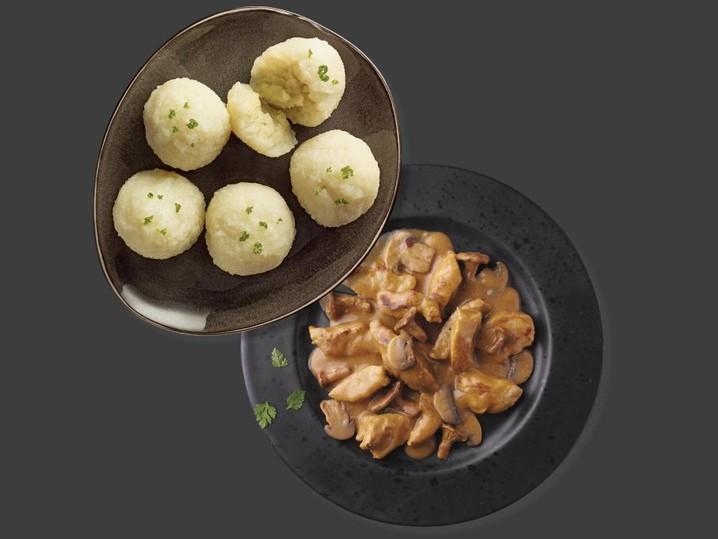 Kombi 3164 Geschnetzeltes + 34089 Kartoffelklöße