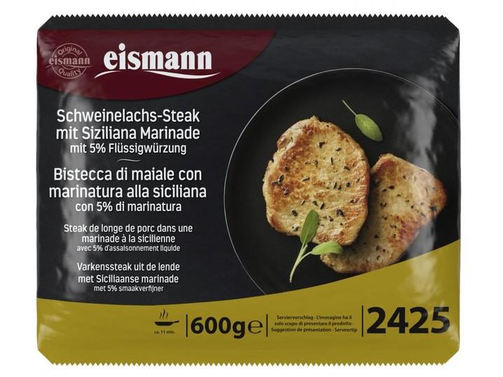 Schweinelachs-Steak mit Siziliana Marina