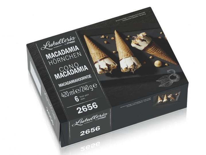 Macadamia Hörnchen