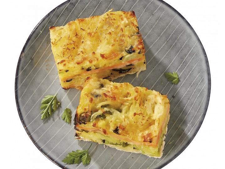Lachs-Kartoffel-Gratin mit Wirsing