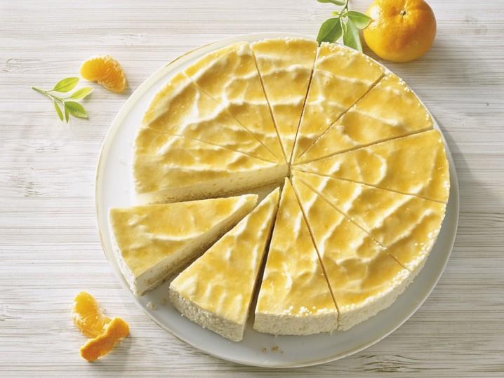 Mandarinen Quark Sahne Torte Torten Torten Backwaren Eismann