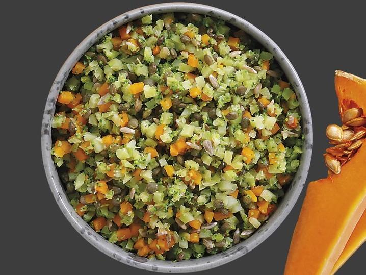 Broccoli Linsen Bowl