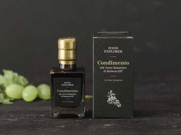Condimento mit 'Aceto Balsamico di Modena IGP' Extra Riserva