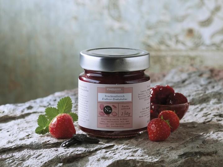 Fruchtaufstrich Erdbeer-Tonkabohne