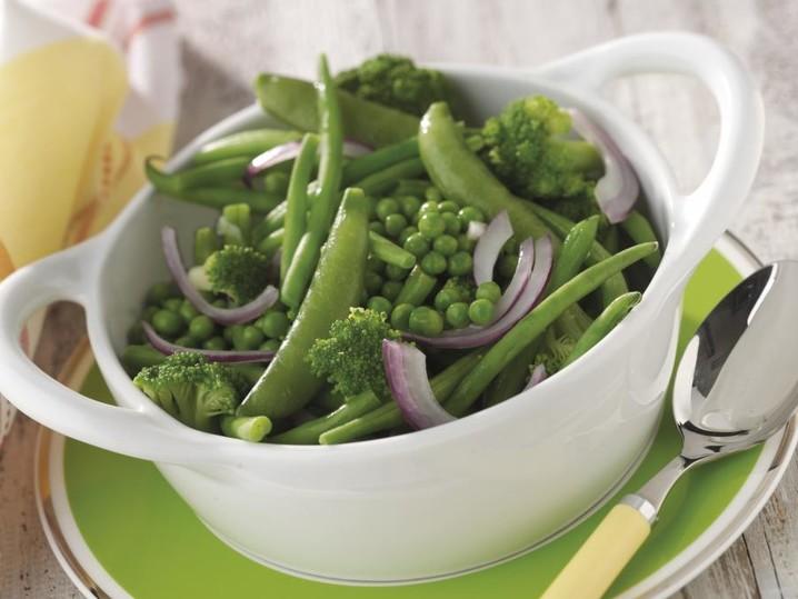 Grüne Gemüsemischung