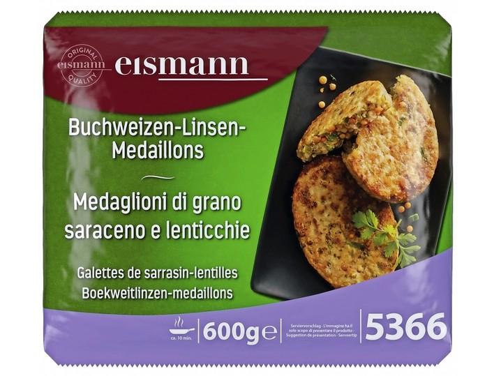 Buchweizen-Linsen-Medaillon