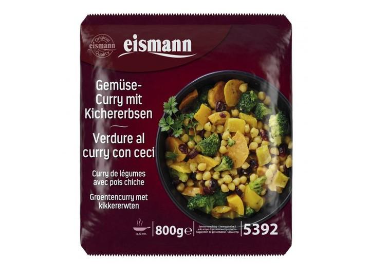 Gemüse-Curry mit Kichererbsen