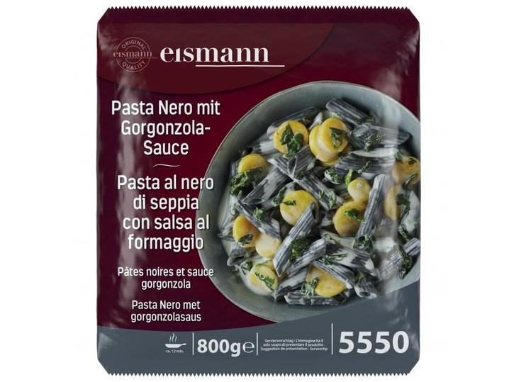 Pasta Nero mit Gorgonzola-Sauce