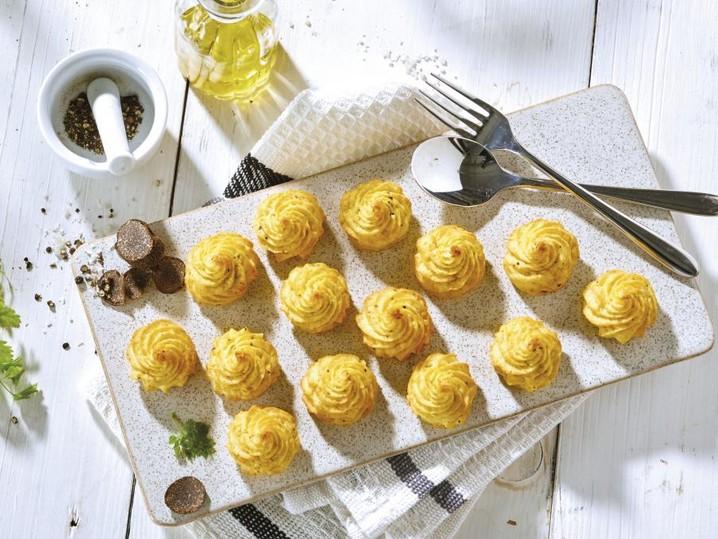 Herzogin-Kartoffeln mit Sommertrüffel