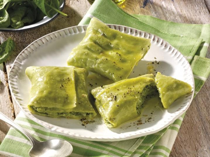 Veggie-Maultaschen Spinat-Ricotta