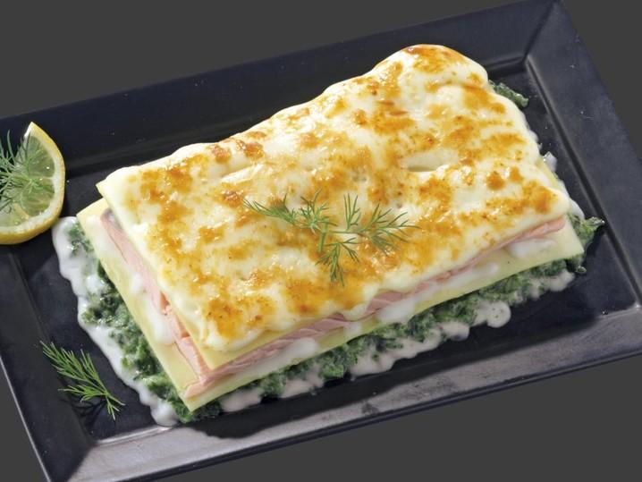 Lachs-Lasagne