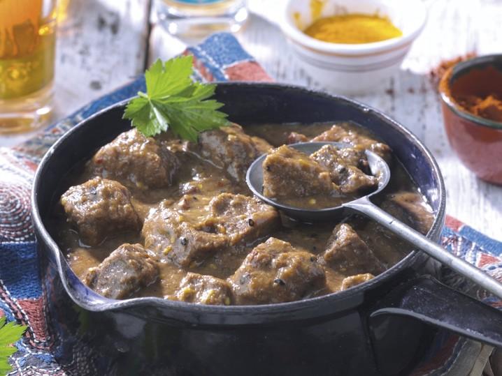 Orientalischer Rindfleischtopf