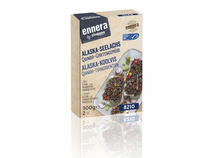 Alaska-Seelachs Quinoa-Gartengemüse