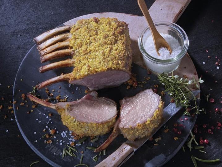 Irisches Delikatess-Lammkarree
