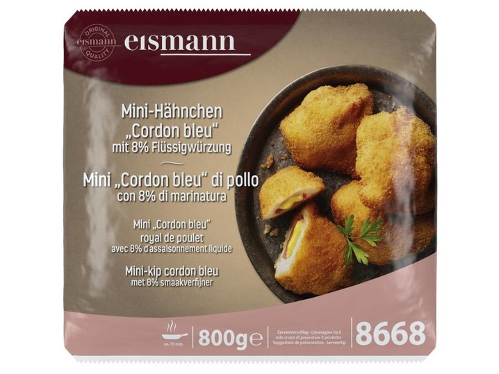 Mini-Hähnchen Cordon bleu