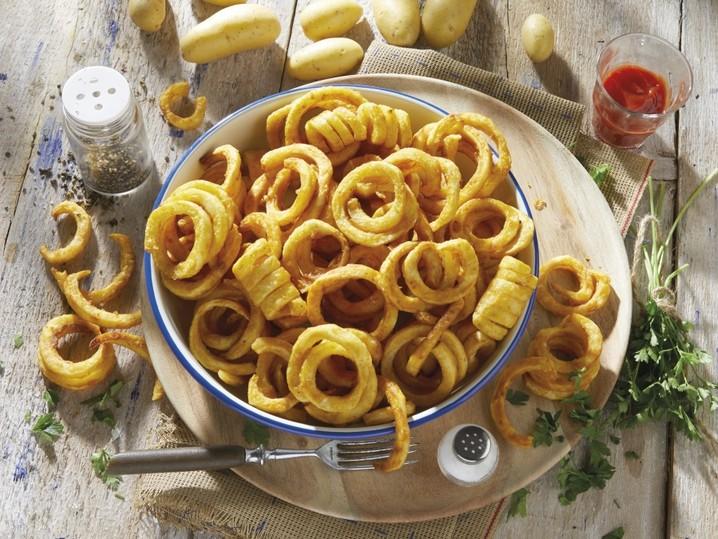 Kartoffelspiralen