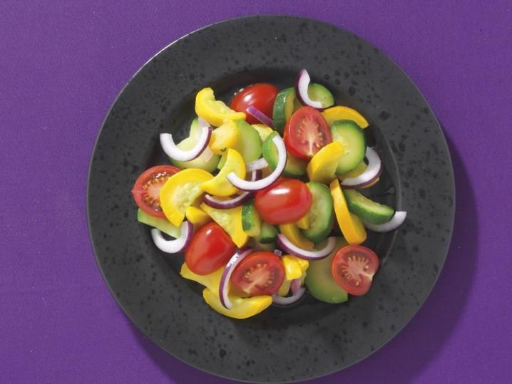 Zucchini-Gemüse-Mix