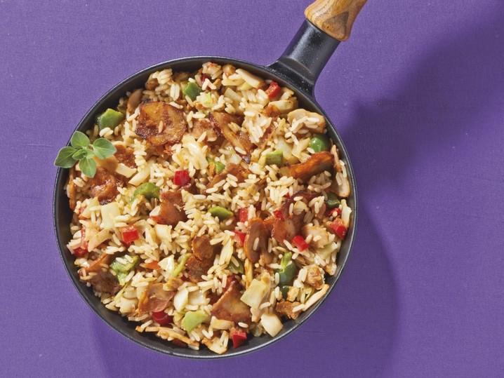 Reis-Hähnchenpfanne Aladin