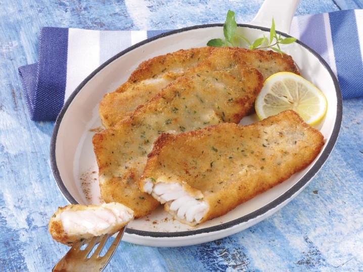 Fischfilet nach Hausfrauen Art