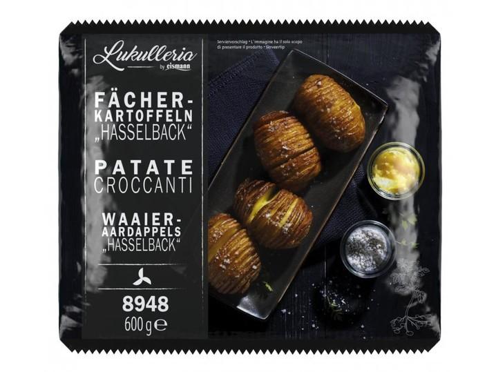 Fächer-Kartoffeln Hasselback